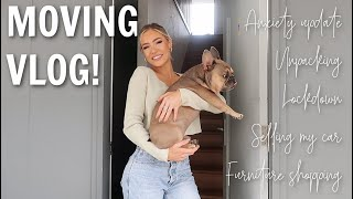 I MOVED CITIES // MOVING VLOG!