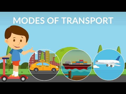 Mode of transport for kids || types of transportation || Transportation video for kids