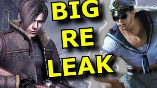 Resident Evil 8 LEAKS but is RE4 Remake First?