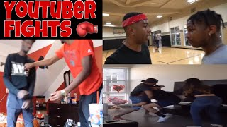 YOUTUBER FIGHTS 🥊 PART 2 (DDG, SoLLUMINATI, McQueen, PrettyBoyFredo, Black Charcoal)