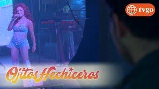 ¡Sabrina le coquetea a Joao desde el escenario! - Ojitos Hechiceros 24/05/2018