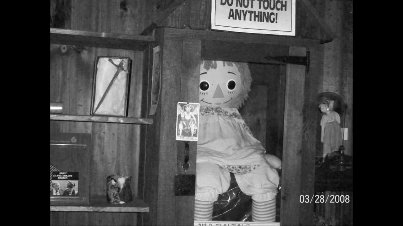 Annabelle Doll & Perron Family Haunting: True Story of ...