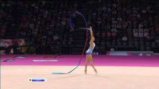 Evgenia Kanaeva Ribbon AA Final World Championships 2011