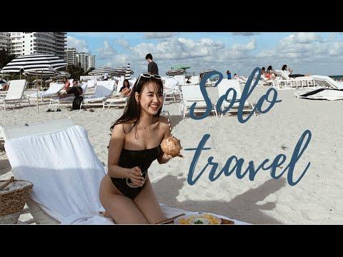 Travel vlog ||  DU LỊCH MỘT MÌNH đến Miami 🏝  - Phoanh Charmmie