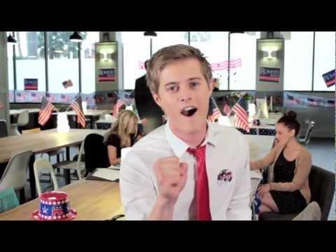 Mitt Romney Style Bruno Mars Parody  Not Bleeped
