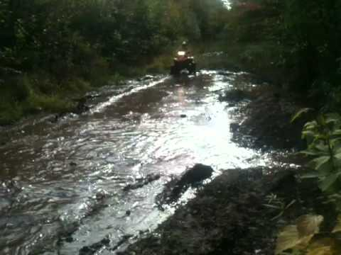 ATV Mudding in Hurley, WI
