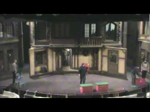 A Christmas Carol Set Timelapse at Meadow Brook Theatre - YouTube