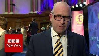 Paul Nuttall named new UKIP leader   BBC News
