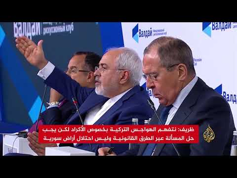 لافروف: موسكو قلقة من تقسيم سوريا بسبب تصرفات واشنطن  - نشر قبل 20 دقيقة
