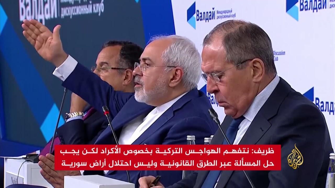 الجزيرة:لافروف: موسكو قلقة من تقسيم سوريا بسبب تصرفات واشنطن