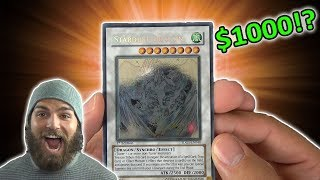 YuGiOh Rare Hunters! Duelist Genesis 100 Pack Opening | Search for the Ghost Stardust! OH BABY!!