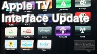 Updated Apple TV Interface for the 5.0 Software Update