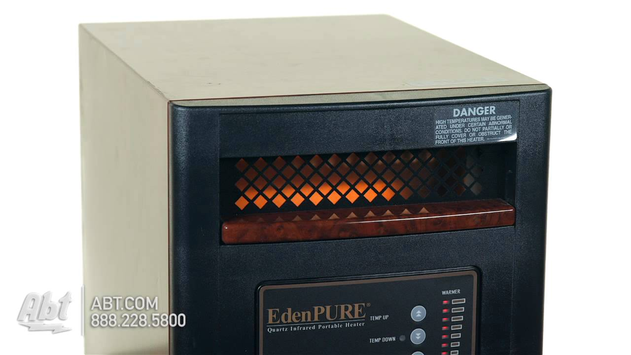 edenpure gen4 infrared portable heater a4643 overview [ 1280 x 720 Pixel ]
