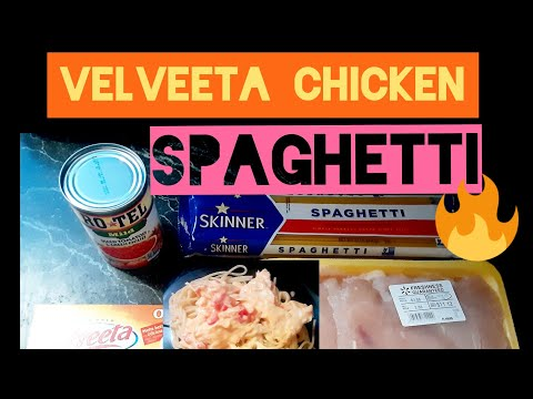 Velveeta Chicken Spaghetti Recipe -Step By Step