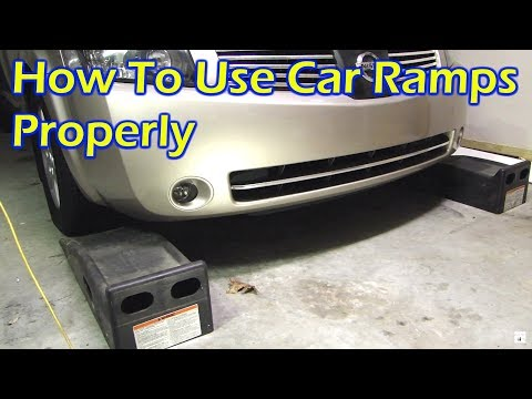 How To Use Car Ramps Properly