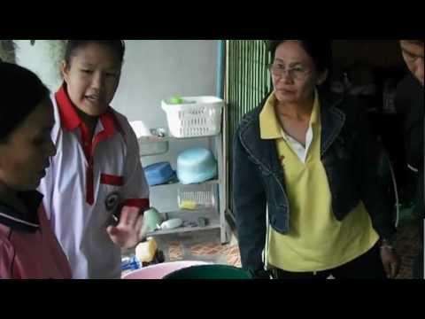 การกำจัดลูกน้ำยุงลายในชุมชน