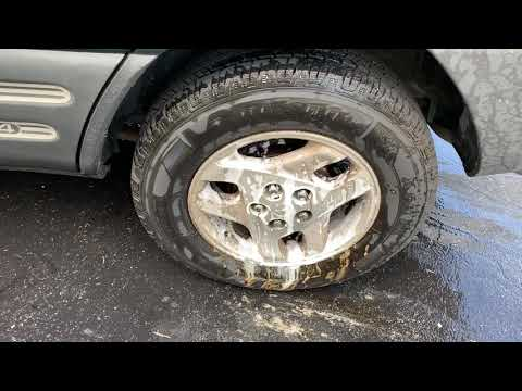 Eagle One wheel and tire Foam cleaner try out