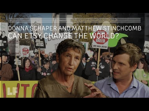 Can Etsy Change the World?: Donna Schaper and Matthew Stinchcomb
