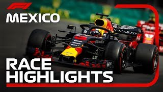 2018 Mexican Grand Prix: Race Highlights