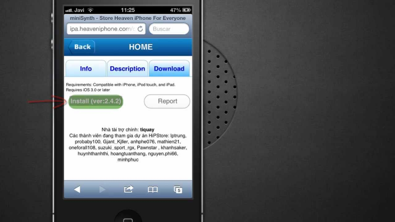 how to get installous ios 6