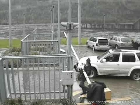 Авария на Саяно Шушенской ГЭС  съемка камер слежения