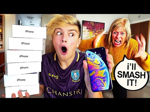 Kid Buys $1500 IPHONE XS MAX with Mom's Credit Card… [MUST WATCH]