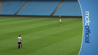 SKILLS James Milner's incredible accuracy