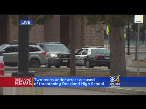 Rockland Students Charged With Threatening To 'Shoot Up The School'