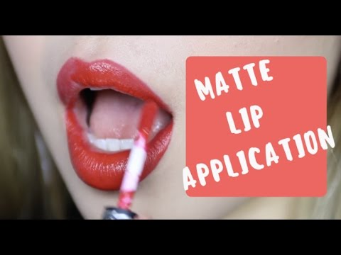 CÁCH DƯỠNG MÔI VÀ TÔ SON LÌ THẬT ĐẸP 💋 / HOW TO APPLY MATTE LIPSTICK BEAUTIFULLY
