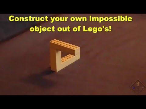 construct an impossible object out of legos a science with bobert video short