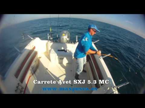 Carrete Avet SXJ 5 3 MC  I PARTE