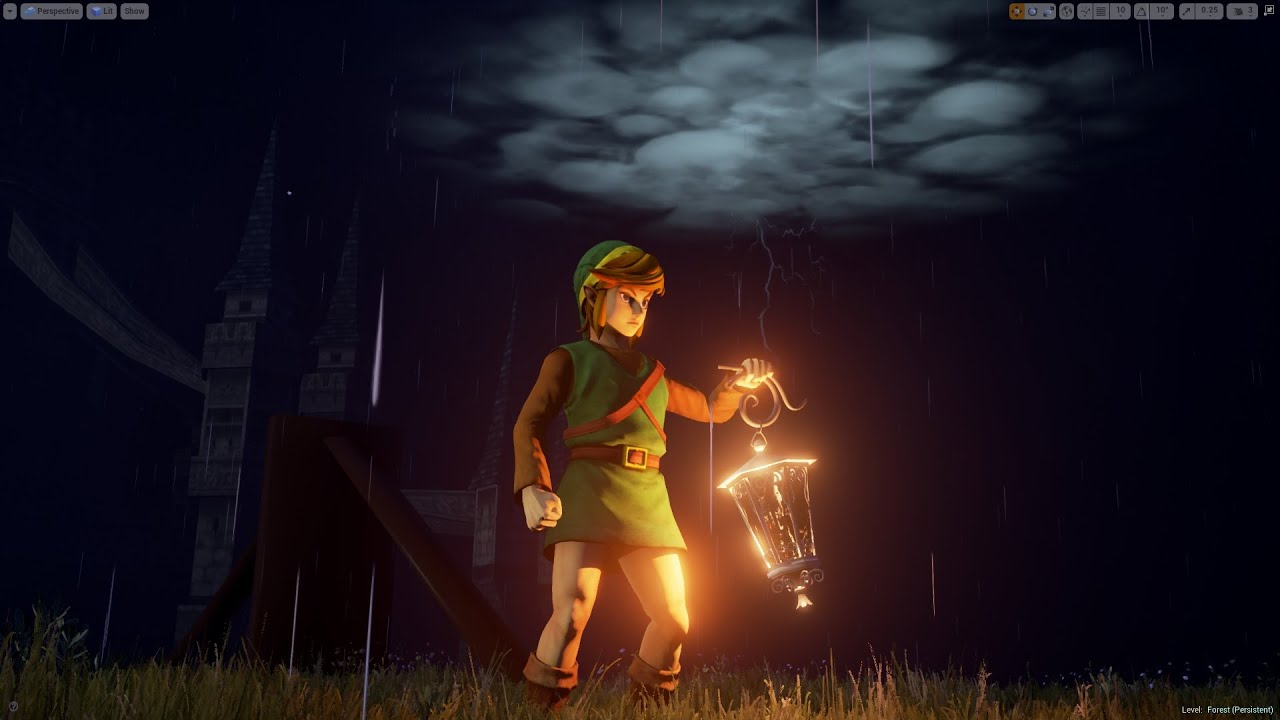 Video: See The Beginning Of A Link To The Past Come To Life in