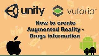 دروس الوحدة 3d و vuforia (ع) للحصول على معلومات عن المخدرات