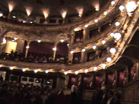 Bent Nail Opera in Europe - Prague State Opera House