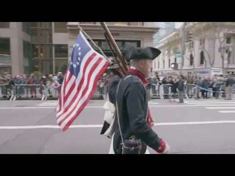 The Veterans Day Parade, for everyone. #UnitedWeMarch