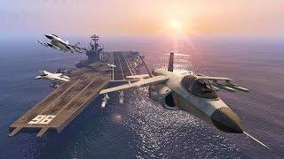 GTA V - Geheime Orte #8 Flugzeugträger!! [Deutsch] [Ps4]