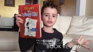 BOOK REVIEW: DIARY OF A WIMPY KID (BOOK 1)