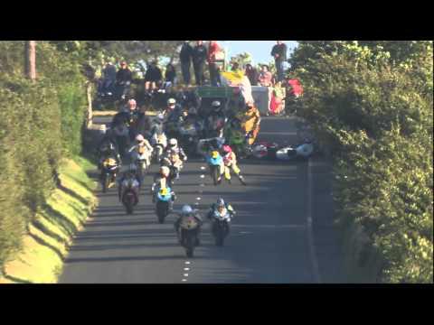 Big Crash at Southern 100 2014 Isle of Man