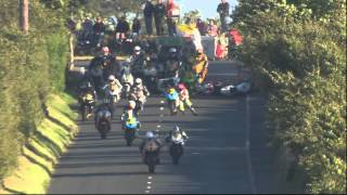 Big Crash at Southern 100 2014 Isle of Man