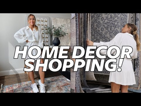 SHOP WITH ME AT HOMEGOODS! Modern Bohemian Farmhouse Style | Julia Havens