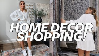 SHOP WITH ME AT HOMEGOODS! Modern Bohemian Farmhouse Style   Julia Havens