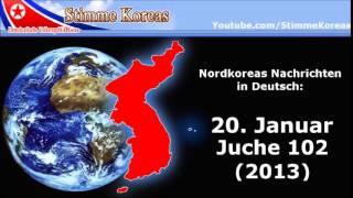 Deutsches Radioprogramm aus Nordkorea   20 1 13 Stimme Koreas Nachrichten