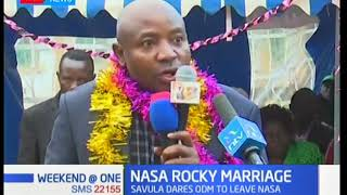 NASA rocky marriage: ANC's Ayub Savula demands share of party funds