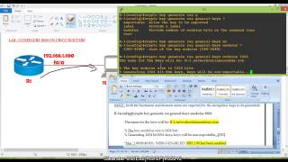 ccna routing switching ssh on cisco routers