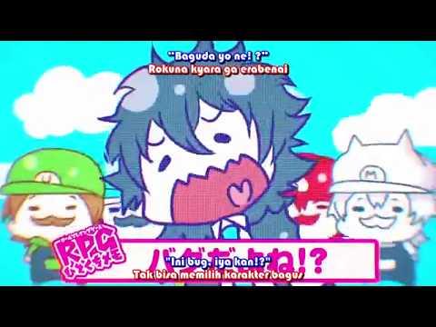 「Lirik+Terjemahan」SoraMafuUraSaka - Role - Playing Game RPG