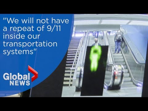El metro de Los Ángeles es el primero en incorporar un sistema de scanners corporales - 0