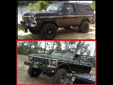 Ford Bronco Vs Jeep Cherokee