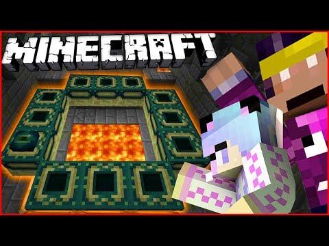 Plecam in cautarea STRONGHOLD-ULUI de pe Minecraft!