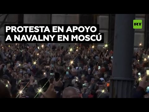 Más de mil detenidos en Rusia en las marchas en apoyo a Navalni