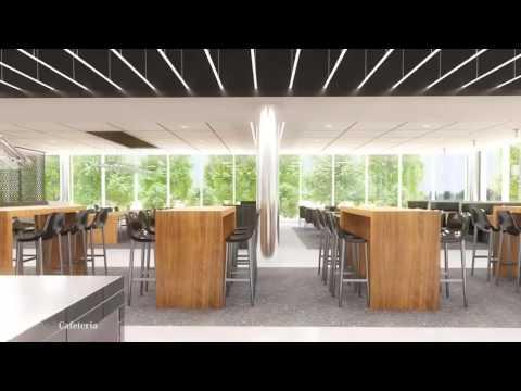 'Fly-through' of future Mercedes-Benz USA headquarters